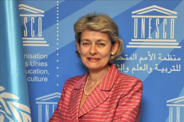 The Chydenius Medal was awarded to UNESCO Director-General Irina Bokova