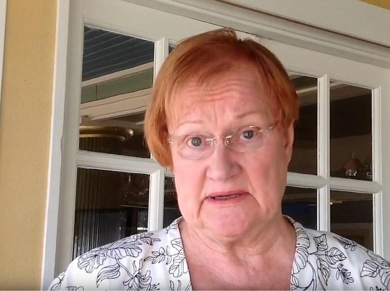 """Tarja Halonen aloittaa """"Minun Chydeniukseni"""" -videoiden sarjan"""