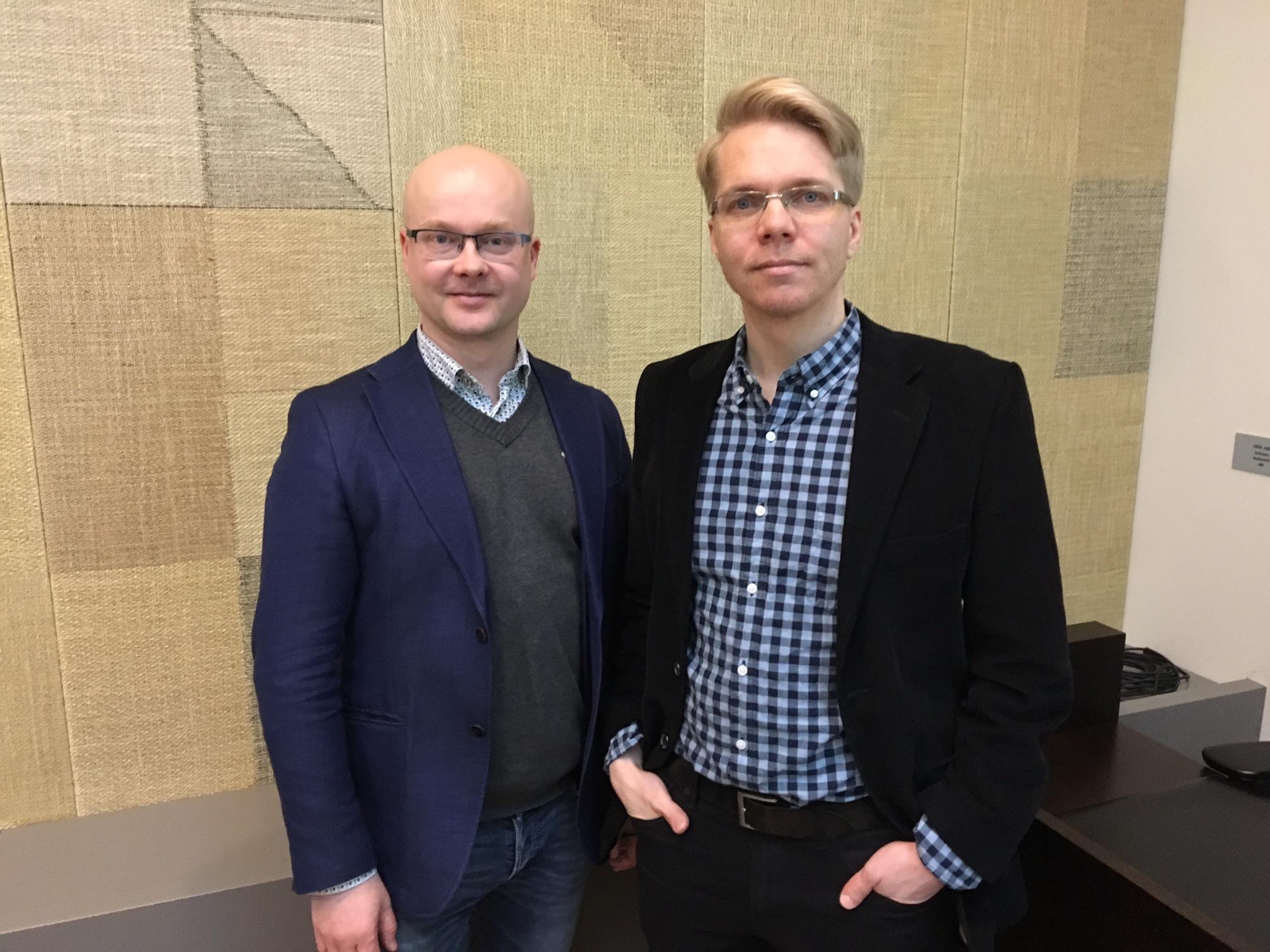 Vuosikokous valitsi Erkki Liikasen puheenjohtajaksi ja Björn Vikströmin varapuheenjohtajaksi